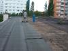 Oprava střechy výměníkové stanice Praha Hostivař